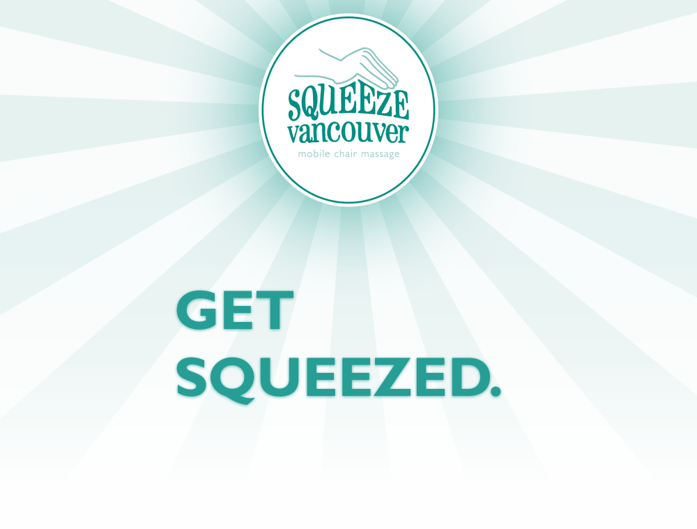 Squeeze Mobile Chair Massage Vancouver